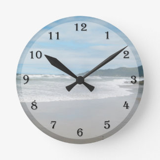 Beach Themed Wall Clock