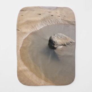 BEACH TIDAL POOL Baby Burp Cloth