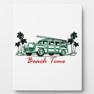 Beach Time Plaque