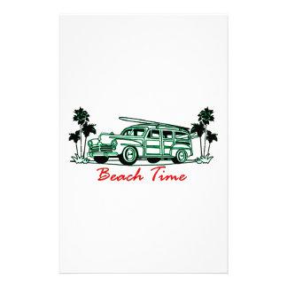 Beach Time Stationery