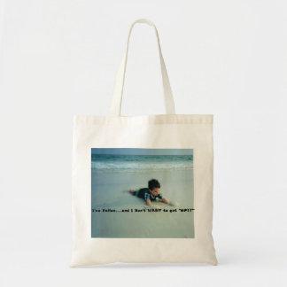 beach tote funny budget tote bag