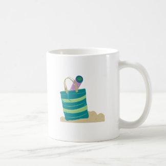 Beach Tote Basic White Mug