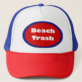 Beach Trash Trucker Hat