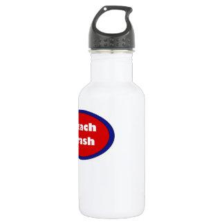 Beach Trash Water Bottle