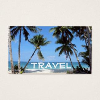 beach, Travel Business Card