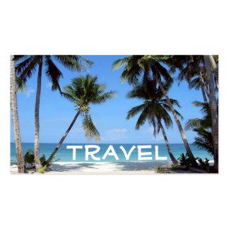 beach, Travel Business Card Templates
