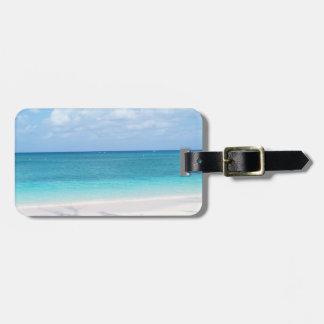 Beach Travel Luggage tag