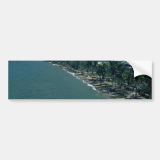 Beach Trees Protecting The World Of Humans Bumper Stickers