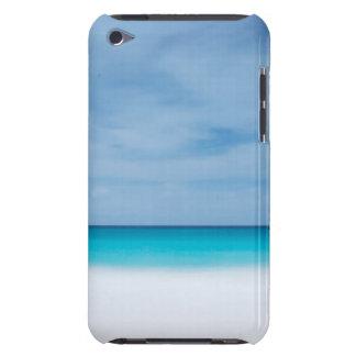 Beach tropical horizon ocean paradise sea photo barely there iPod case