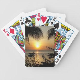 Beach Tropical Paradise Poker Deck