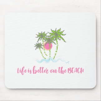 Beach Tropical Style Summer Graphic Mouse Pad