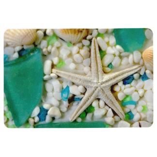 Beach Tropical Theme Starfish Floor Mat