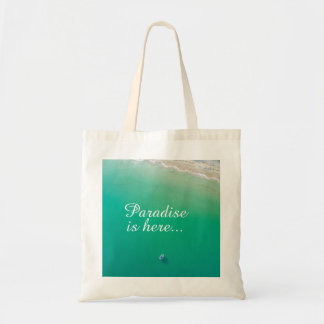 Beach Turquoise Water Tote Bag