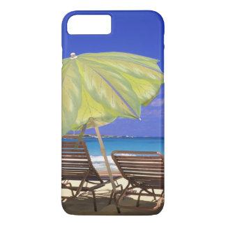 Beach Umbrella, Abaco, Bahamas iPhone 7 Plus Case