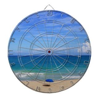 Beach Umbrella Ocean Dartboard