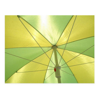 Beach Umbrella Postcard