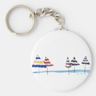 Beach Umbrellas Keychain