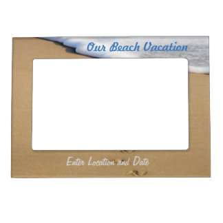 Beach Vacation Magnetic Frame