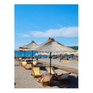 Beach vacations Postcard