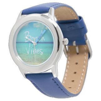 Beach vibes wrist watches