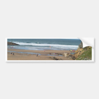 Beach View Bumper Sticker