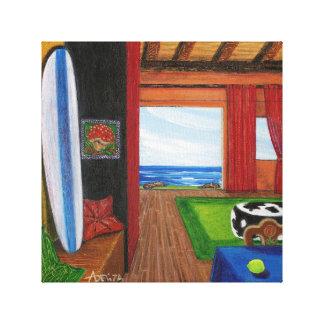 Beach View In Hawaii Canvas Print