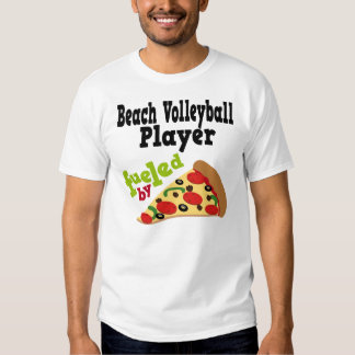 Beach Volleyball Player (Funny) Pizza T Shirt