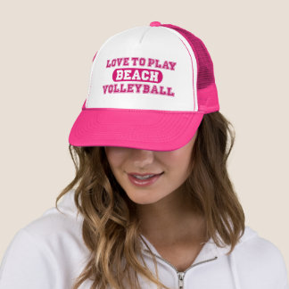 Beach Volleyball Trucker Hat