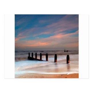 Beach Wash Post Card