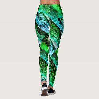 beach wave leggings