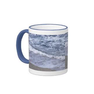 Beach Waves Ringer Mug