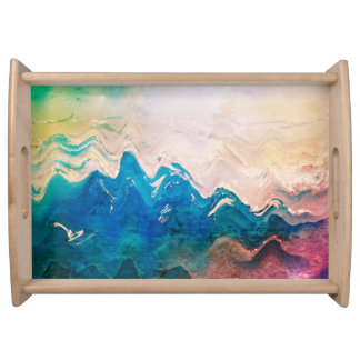 Beach Waves Tray