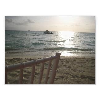 Beach Wedding Photographic Print