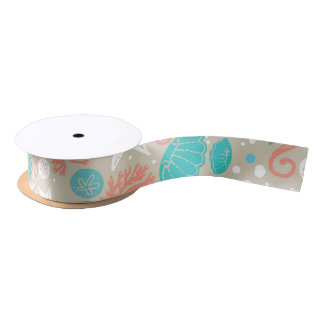 beach wedding ribbon satin ribbon