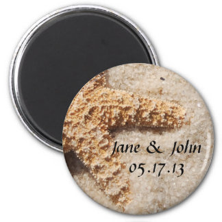 Beach Wedding Save the Date Magnet - Starfish