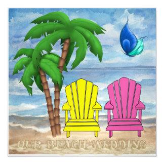 Beach Wedding - SRF Card