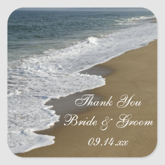 Beach Wedding Thank You Favor Tags
