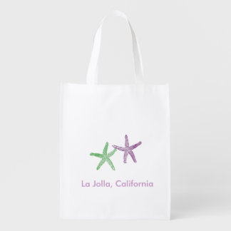 Beach Wedding Welcome Bag Market Tote