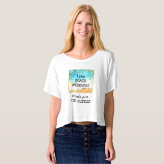 Beach Weddings Side Hustle T-Shirt