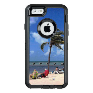 Beach with Coconut Palm OtterBox iPhone 6/6s Case