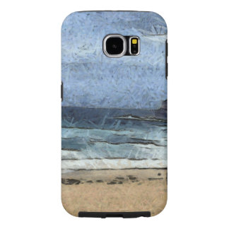 Beach with few people samsung galaxy s6 cases