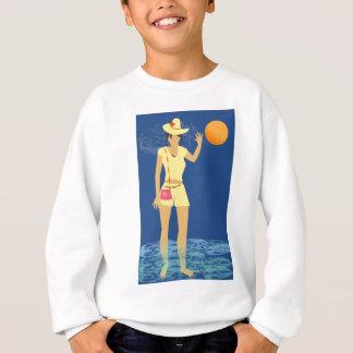 Beach Woman Vintage Sweatshirt