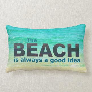 BEACH WORD PILLOW