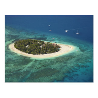 Beachcomber Island Resort, Fiji Postcard