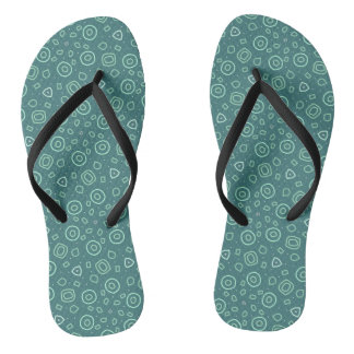 Beachcomber shapes in green thongs