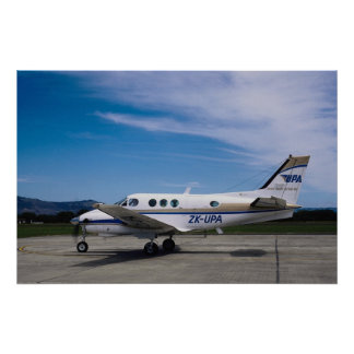Beachcraft King Air C 90 Posters