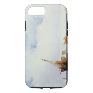 Beached Vessels and a Wagon near Trouville, c.1825 iPhone 7 Case