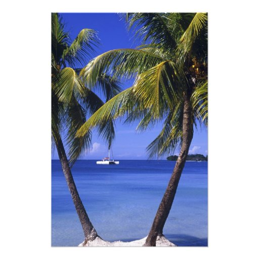 Beaches at Negril, Jamaica 2 Photographic Print