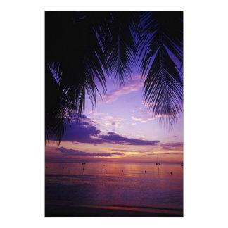Beaches at Negril Jamaica 3 Photographic Print