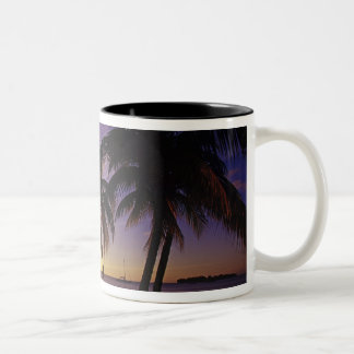 Beaches at Negril, Jamaica 3 Two-Tone Mug